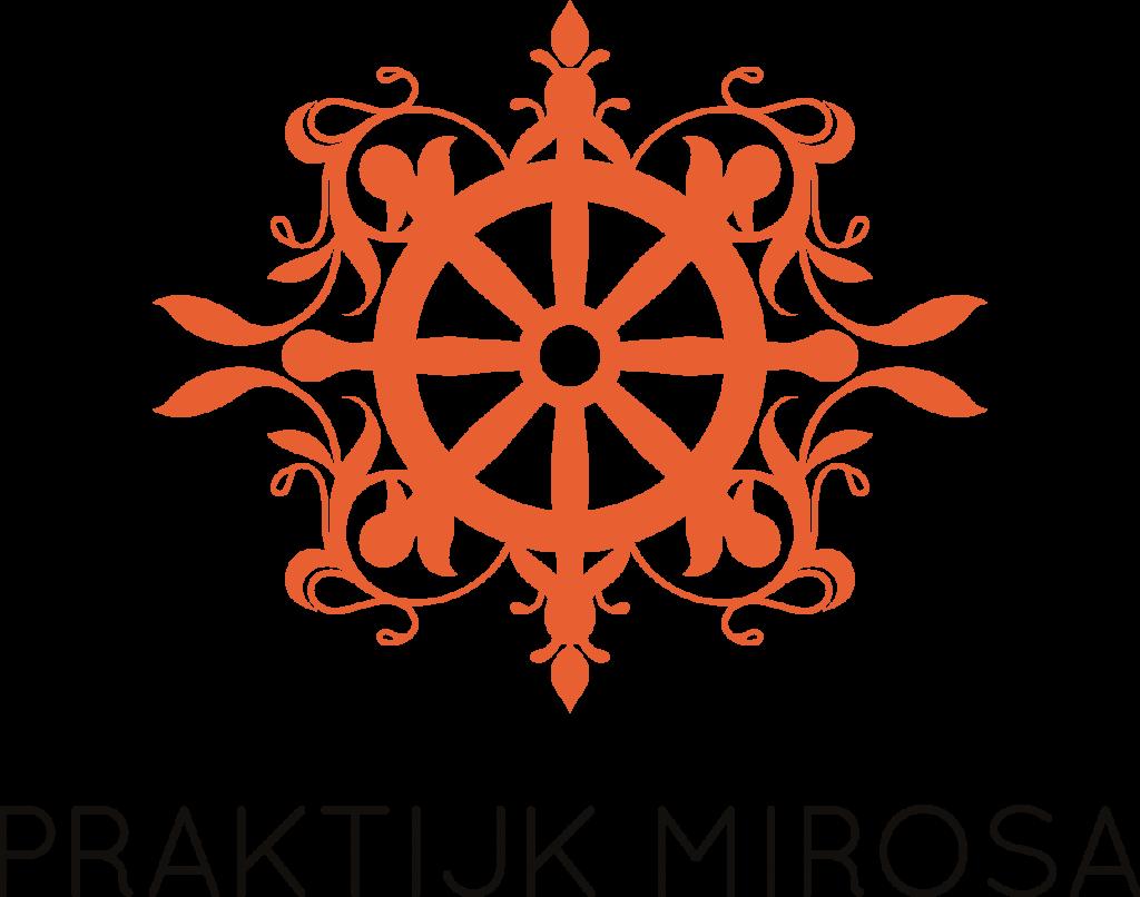 logo Praktijk Mirosa oranje